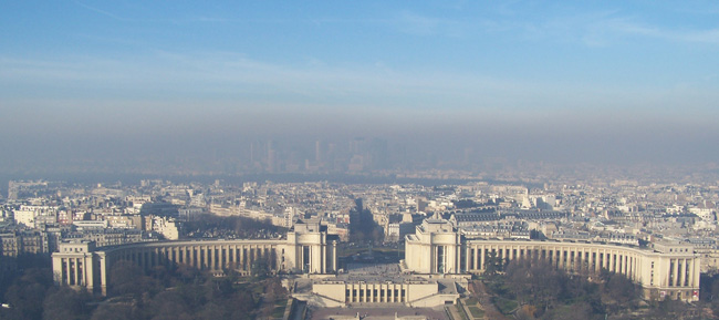 La pollution de l'air à Paris