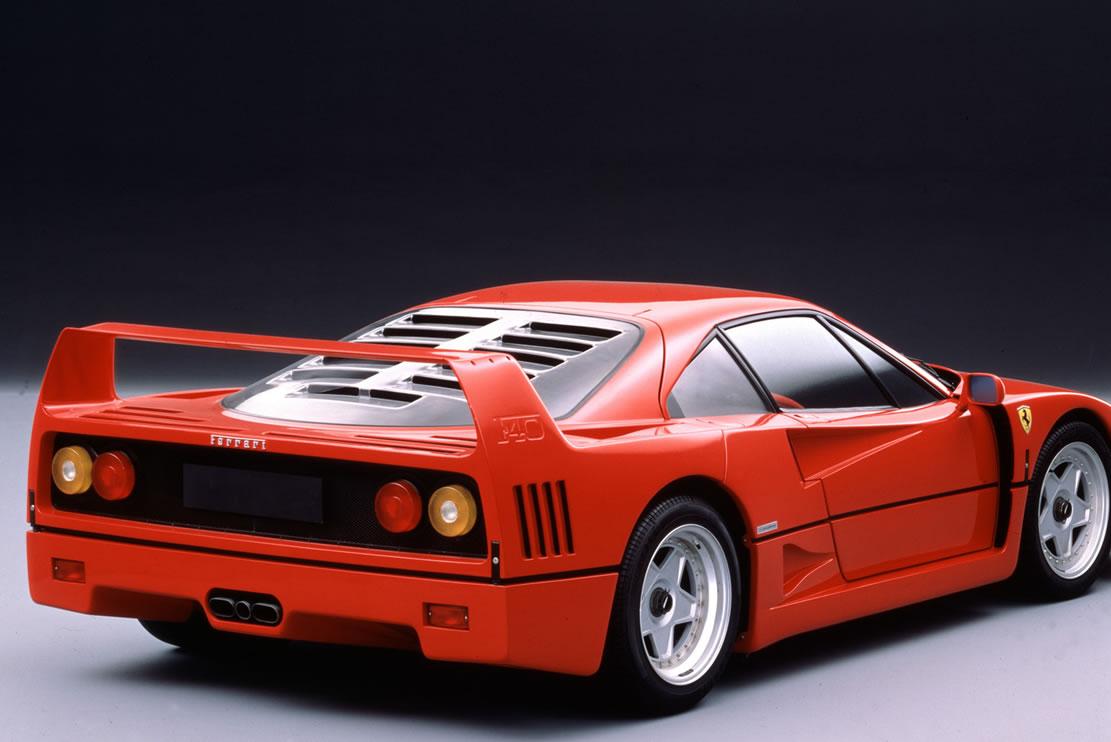 Ecoutez le son et devinez de quelle voiture il s'agit… la F40.