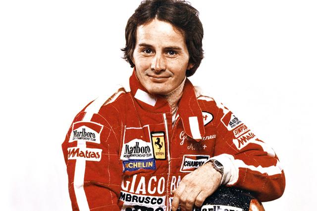 Gilles Villeneuve 18/01/1950 – 08/05/1982