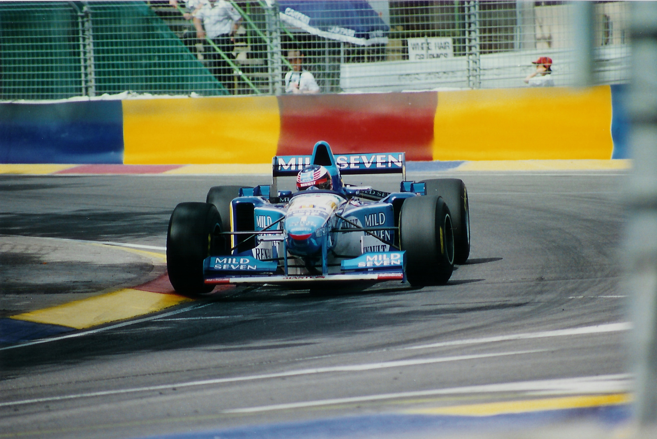 Analyse du style de pilotage de Schumacher